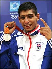 Bolton boxer Amir Khan