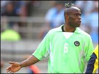 Nigeria defender Taribo West