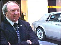 Rolls-Royce Motor Cars chief executive Tony Gott