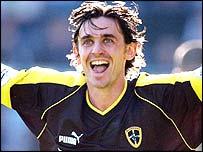 Cardiff City midfielder Gareth Whalley
