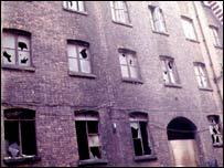 Edificio abandonado, Londres.
