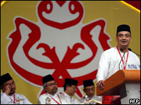 Hishamuddin Hussein, youth chief of the ruling United Malays National Organisation