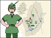 Robin Hood tour
