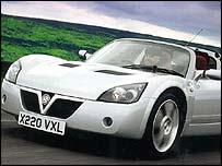 Vauxhall VX220 car