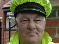 Jim Stelling, lollipop man