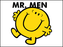 Mr Bounce. Pic from the Mr Men website