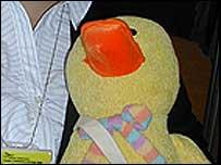President's duck