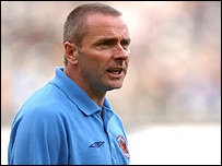 Carlisle player-manager Paul Simpson