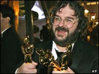 Lord of the Rings director Peter Jackson, AP