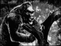 Still from 1933 version of King Kong, AP