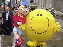 Noddy meets Mr Happy