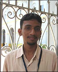 Samson Joy, student, Kerala
