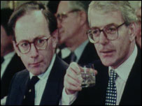 Pic of Malcolm Rifkind and John Major