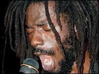 Buju Banton - picture courtesy of reggaephotos.com