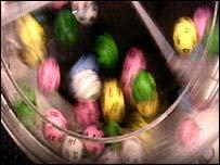 Lottery balls - generic