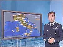 Italian meteorologist