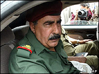 Iraqi Maj Gen Jassim Mohammed Saleh, a veteran of the army and the Republican Guard, in Falluja