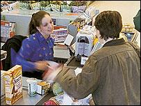 Sainsbury's checkout (Sainsbury's)