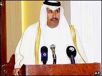 Sheikh Hamad bin Jassim, Qatari foreign minister