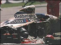 Accidente de Ayrton Senna