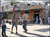 Rafah town in Egypt