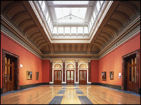 Central Hall - � The National Gallery, London; photo by Morley Von Sternberg