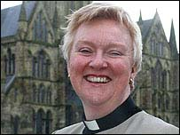 June Osborne has been a canon at Salisbury Cathedral since 1995