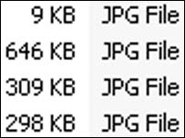 Jpeg files on PC, BBC
