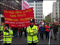 TUC workers' march 2004