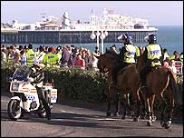 Policing at the 2000 Labour conference in Brighton