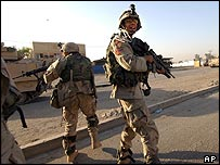US troops in Iraq