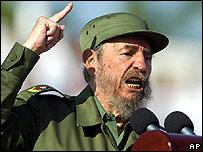 Fidel Castro, presidente de Cuba