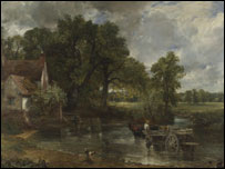 The Hay Wain -Pic from The National Gallery