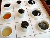 Teas at Sri Lanka plantation