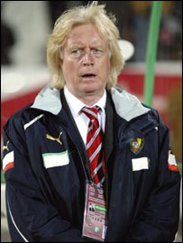 Cameroon coach Winfried Schaefer