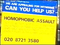 Homophobic assault appeal board