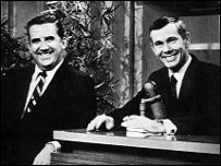 Ed McMahon and Johnny Carson