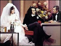 Miss Vicki, Tiny Time and Johnny Carson