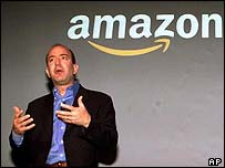 Amazon boss Jeff Bezos, AP