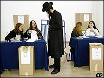 Jerusalem polling station