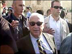 Ariel Sharon at Al Aqsa