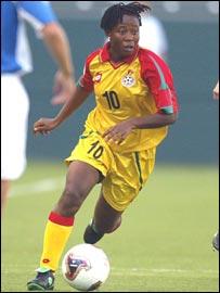 Ghana's Adjoa Bayor