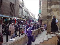 Calle del Cairo antiguo