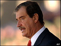 Mexican President Vicente Fox