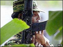Tamil Tiger rebel