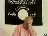Ken Bigley in a video released by his captors