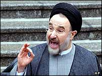 Iranian President Mohammad Khatami