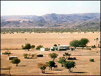 Namibian cattle ranch