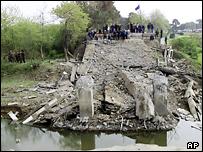 Взованный мост в Аджарии