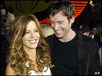 Kate Beckinsale and Hugh Jackman,  US premiere of Van Helsing, 3 May 2004
